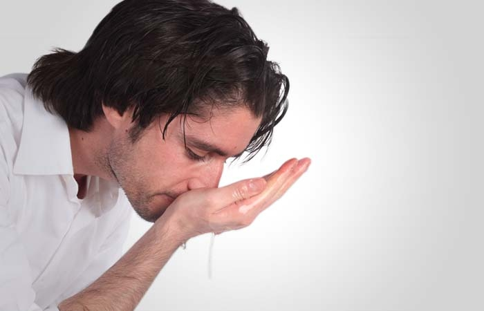 He cleans his nose by sniffing water into the nostrils and ejectingitout. It is recommended to snuff up water deeply without causing any harm to himself. It is obligatory to clean the nose once, but it is recommended to do so three times.